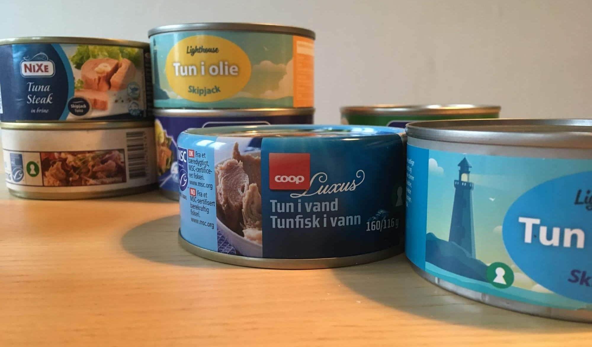 Fødevareguidens guide til valg af tun