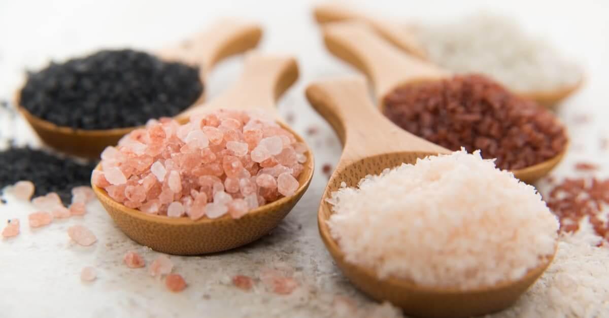 forskellige typer salt