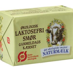 Økologisk laktosefri smør fra Naturmælk