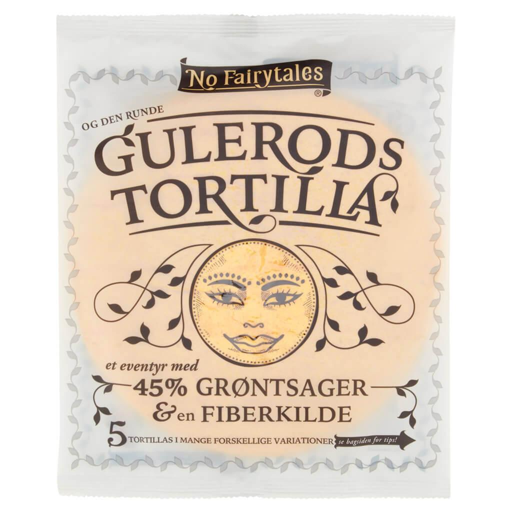Gulerod tortilla fra No faritale
