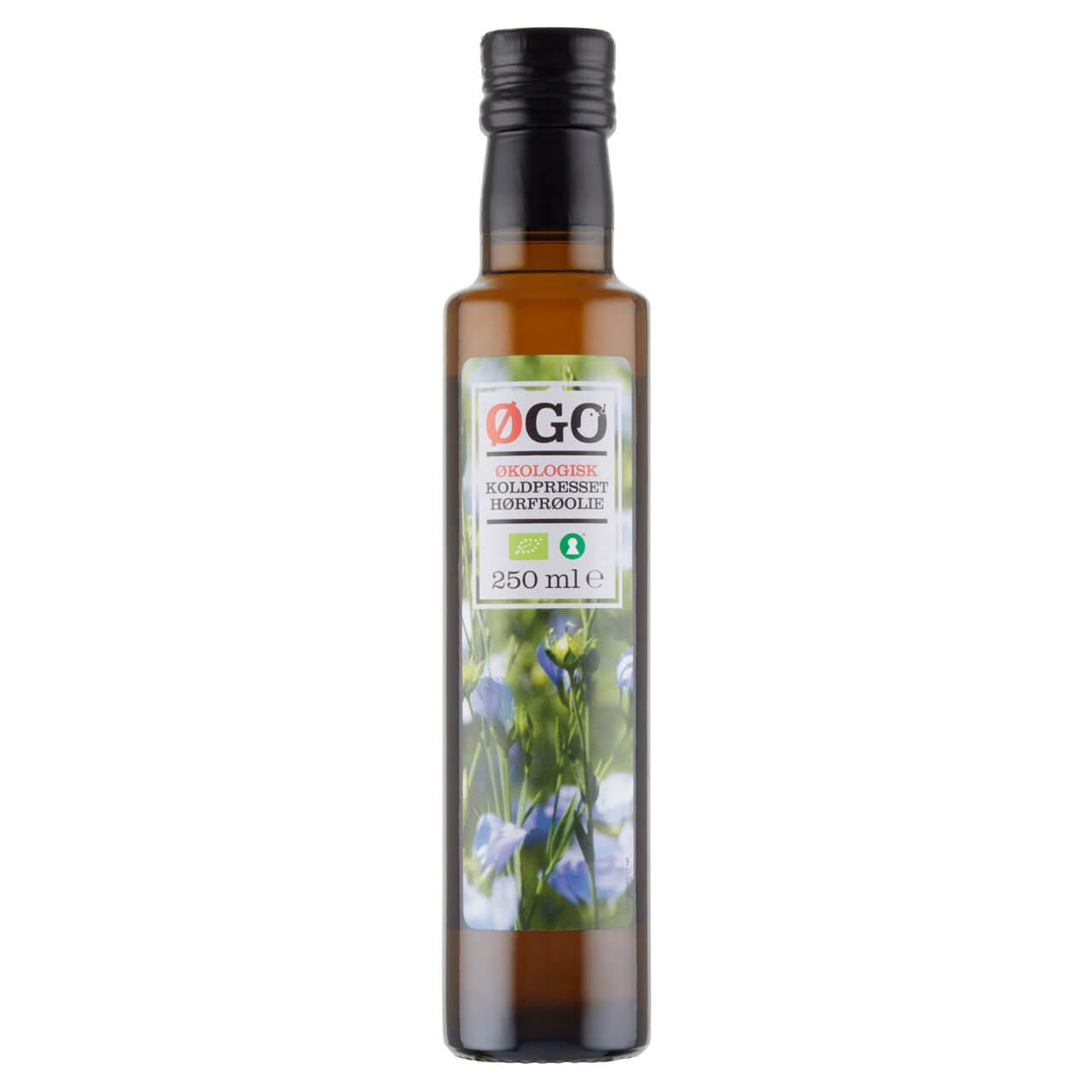 hørfrø olie fra ØGO, Netto
