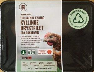 Kyllinge brystfilet fra fritgående kylling, Rema 1000