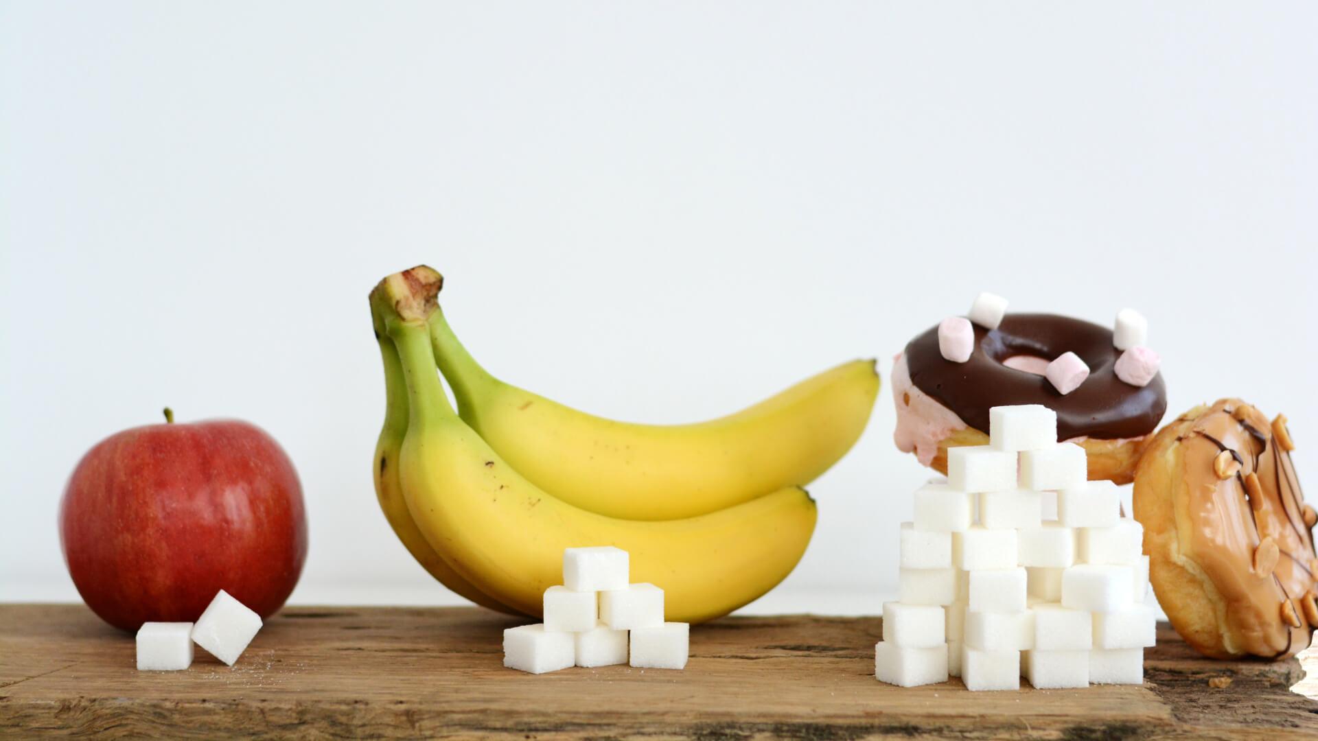 sukkerindhold i forskellige madvarer